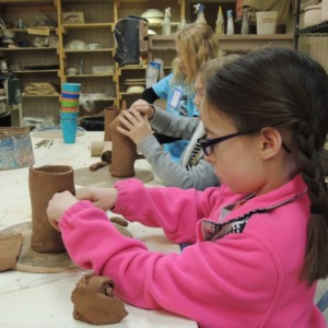 pottery youth girl
