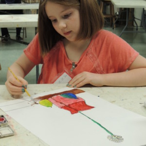 youth summer art camp