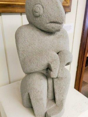 Elder Jones Sculpture from 2015