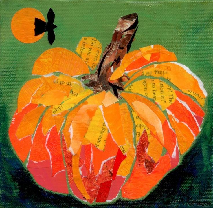 Mixed Media Pumpkin Collages Kdo Workshop October 27 Mark Arts
