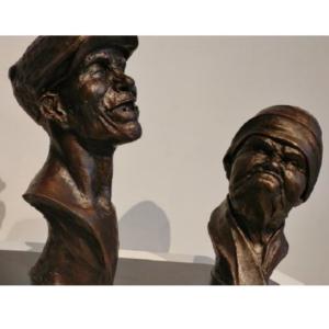 craig campbell-portrait sculpting