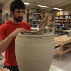 Troy Becker Handbuilding Coil Pot