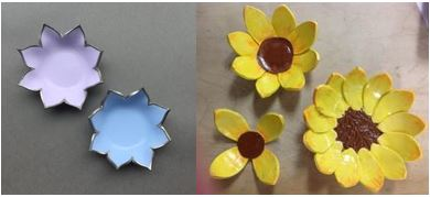 flower shaped bowl