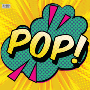 Pop Art class - April Morgan