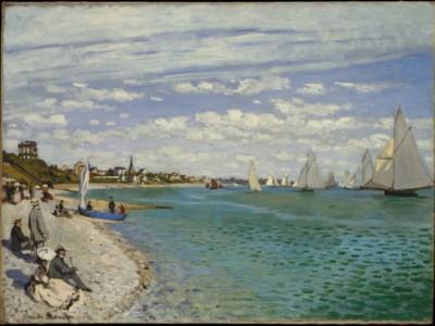 Regatta Sainte Adresse - Monet