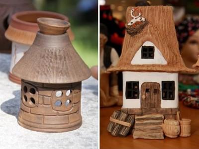 fairy or hobbit houses