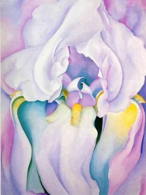 georgia-okeeffe-light-of-iris-1924
