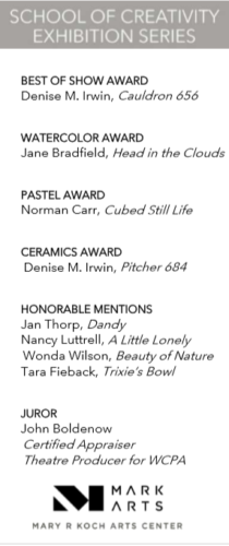 Mark Arts Winners