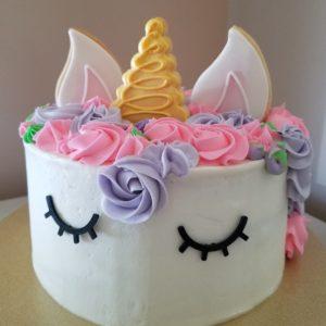Side by Side Unicorn Cake (2)