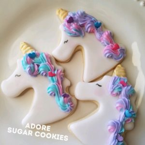 Mommy Me Unicorn Cookie Class Pic'