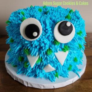 Mini Monster Cake Oct 24th