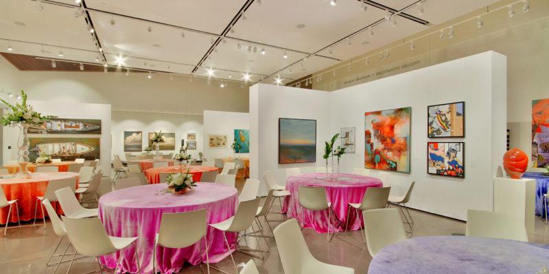 Tables in Gladys & Karl T. Wiedemann Gallery