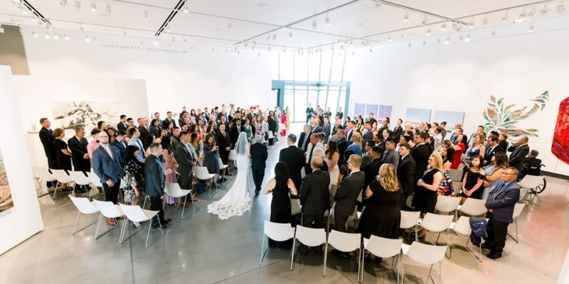 Wedding Ceremony in Gallery